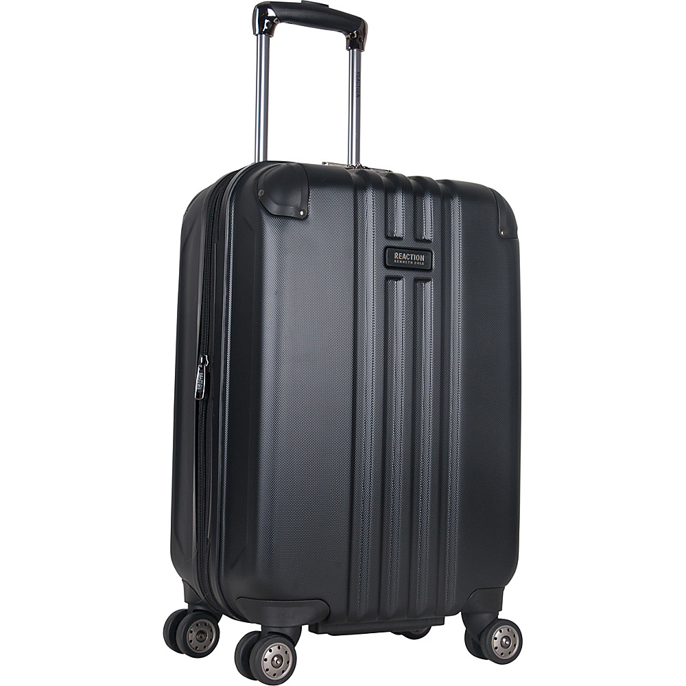 "Kenneth Cole Reaction Reverb 20"" Carry-On Expandable Hardside Spinner Black - Kenneth Cole Reaction Hardside Carry-On"
