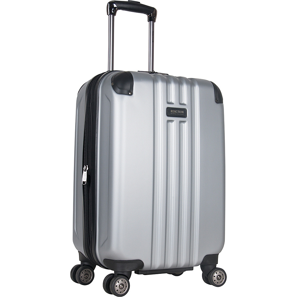 Kenneth Cole Reaction Reverb 20 Carry On Expandable Hardside Spinner Silver Kenneth Cole Reaction Hardside Carry On