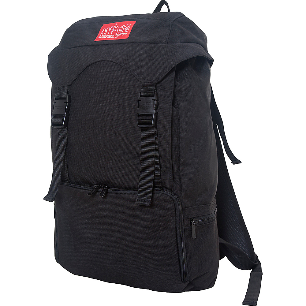 Manhattan Portage Hiker Backpack 3 Black - Manhattan Portage Everyday Backpacks