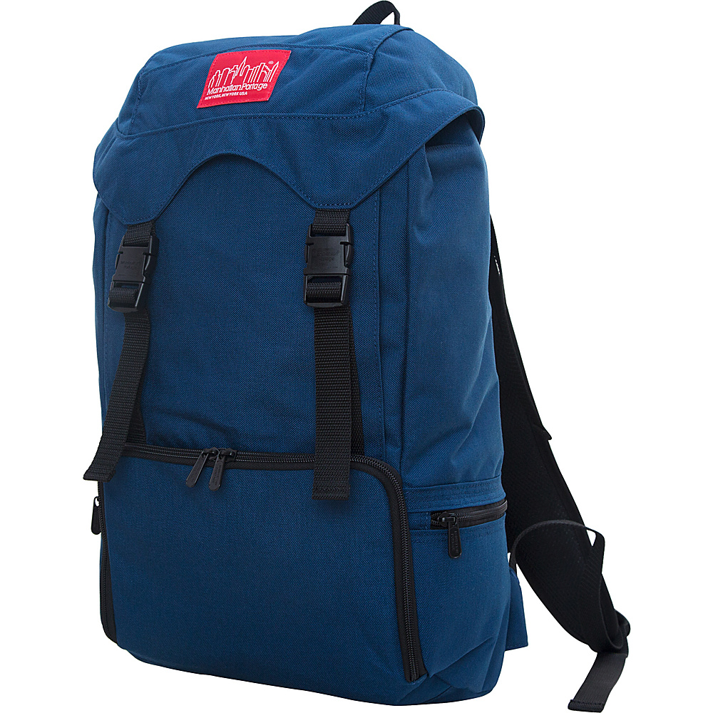 Manhattan Portage Hiker Backpack 3 Navy - Manhattan Portage Everyday Backpacks
