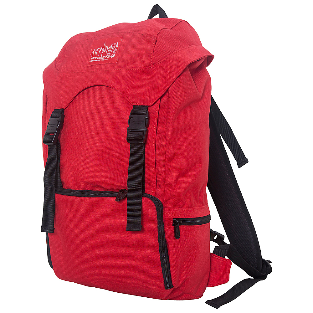 Manhattan Portage Hiker Backpack 3 Red - Manhattan Portage Everyday Backpacks