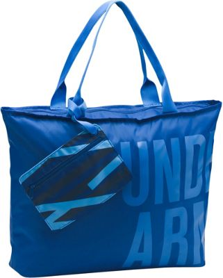 Under Armour Big Word Mark Tote Royal/Mediterranean/Midnight Navy - Under Armour Gym Duffels
