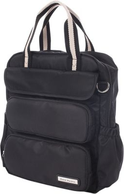 Perry Mackin Madison Diaper Backpack Black - Perry Mackin Diaper Bags & Accessories