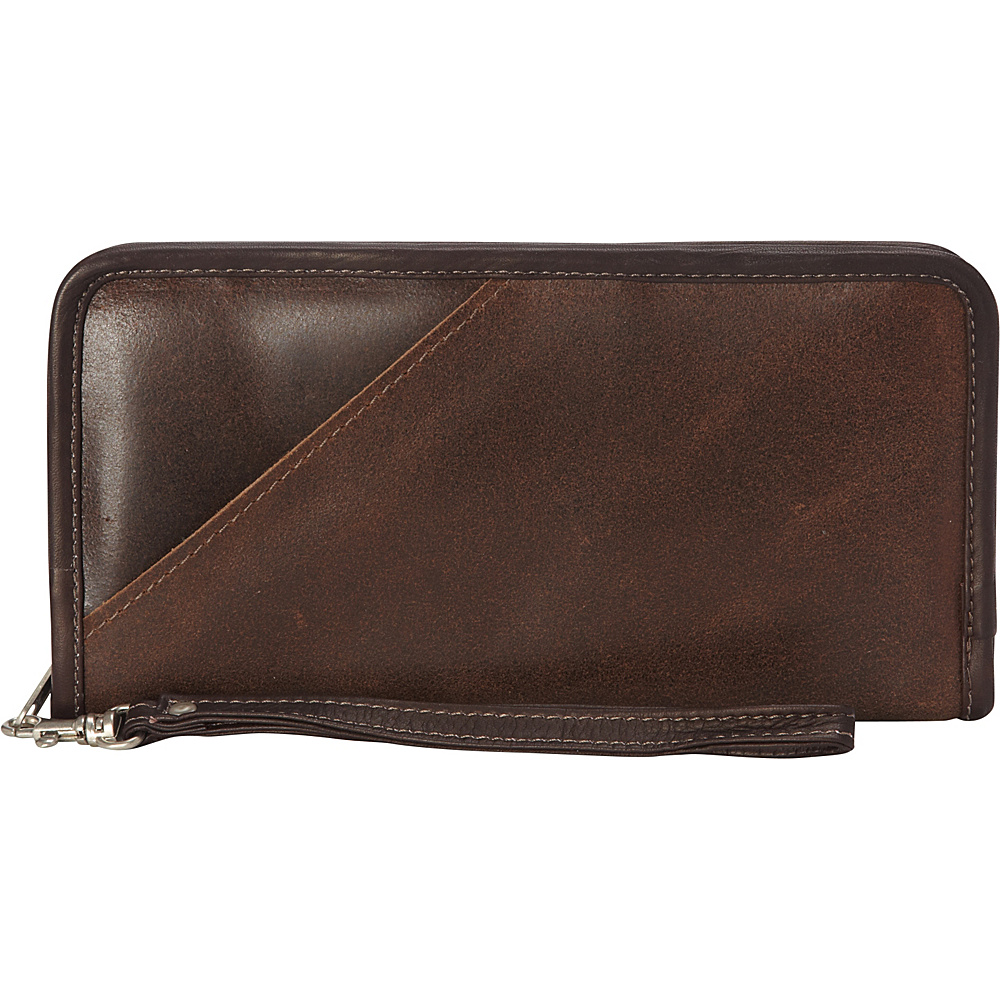 Piel Vintage Executive Travel Wallet Vintage Brown - Piel Travel Wallets - Travel Accessories, Travel Wallets