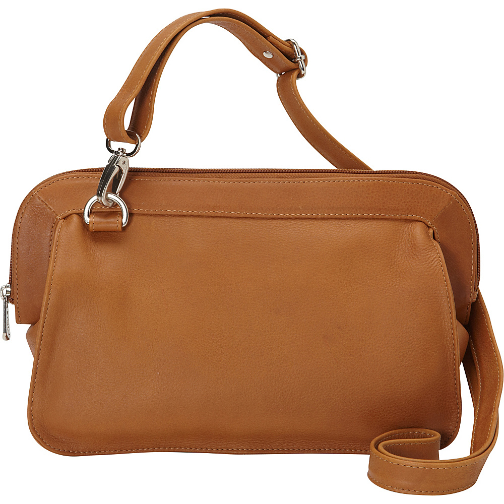 Piel Convertible Shoulder Bag Honey - Piel Leather Handbags - Handbags, Leather Handbags