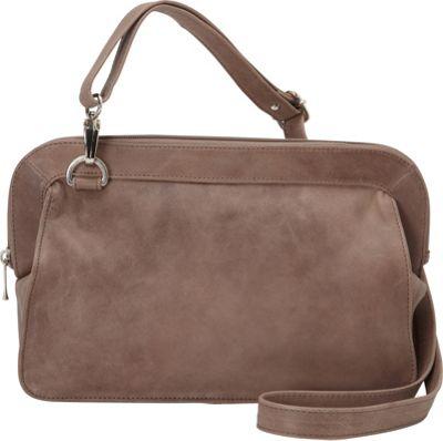 Piel Convertible Shoulder Bag Toffee - Piel Leather Handbags