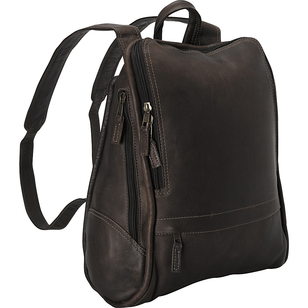 Latico Leathers Apollo Backpack - Large Caf © - Latico Leathers Everyday Backpacks