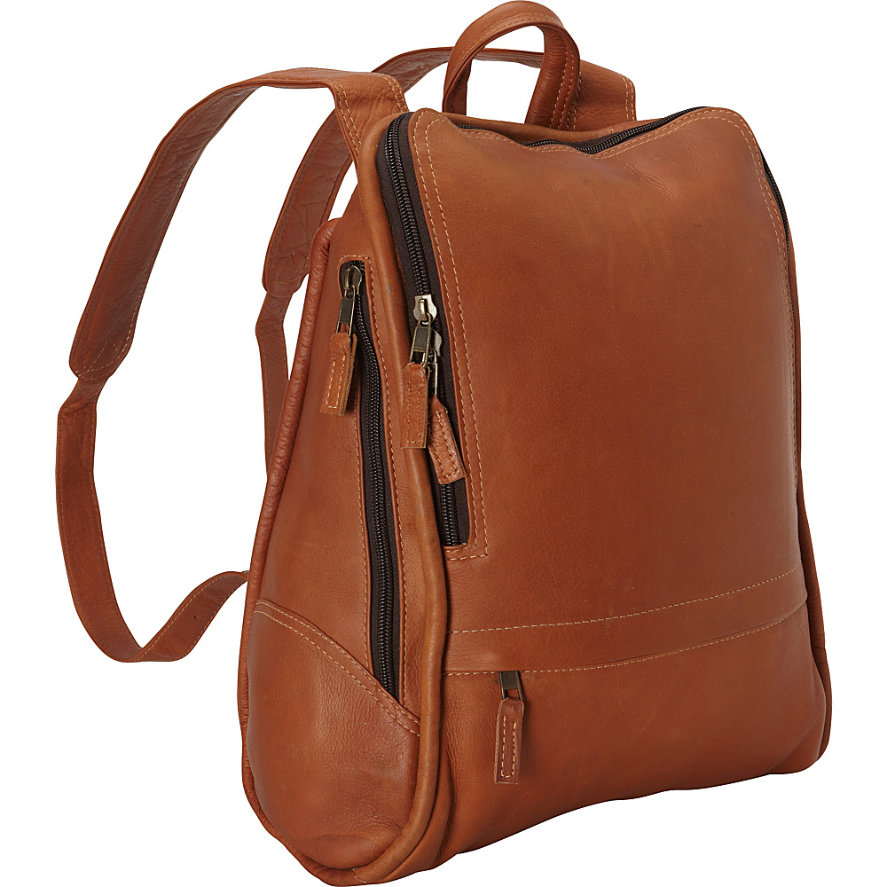 Latico Leathers Apollo Backpack - Large Natural - Latico Leathers Everyday Backpacks