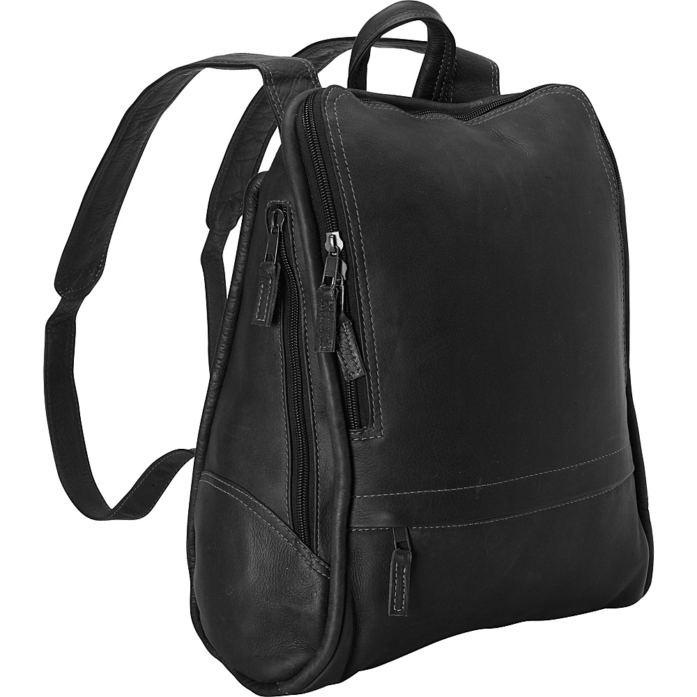 Latico Leathers Apollo Backpack - Large Black - Latico Leathers Everyday Backpacks