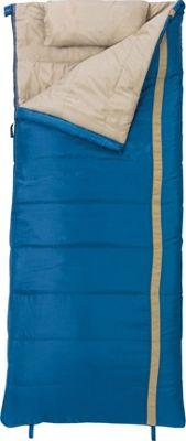 Slumberjack Timberjack 20 Degree Regular Right Hand Sleeping Bag Blue - Slumberjack Outdoor Accessories