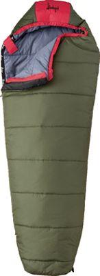 Slumberjack Lil Scout 40 Degree Short Right Hand Sleeping Bag Evergreen - Slumberjack Outdoor Accessories