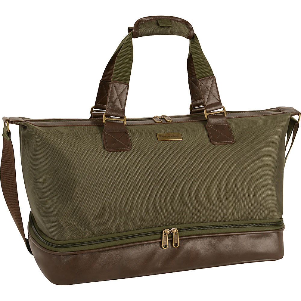 Tommy Bahama Surge 19 Duffle Olive Brown Tommy Bahama Rolling Duffels