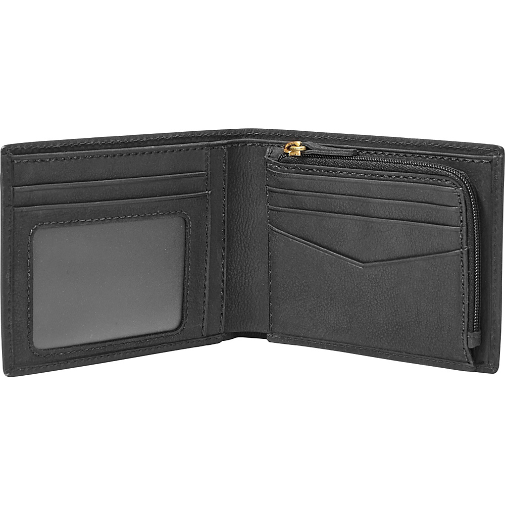 a14266a0a4 ... Wallet | upcitemdb UPC 762346301370 product image for Fossil Nova Slim  L-zip Bifold Brown - Fossil Mens