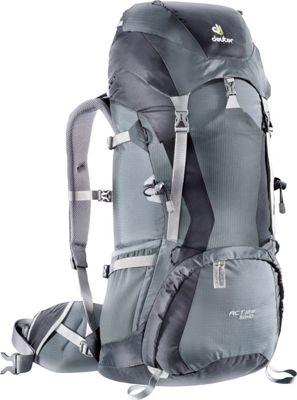 Deuter ACT Lite 50+10 Hiking Backpack Black/Granite - Deuter Day Hiking Backpacks