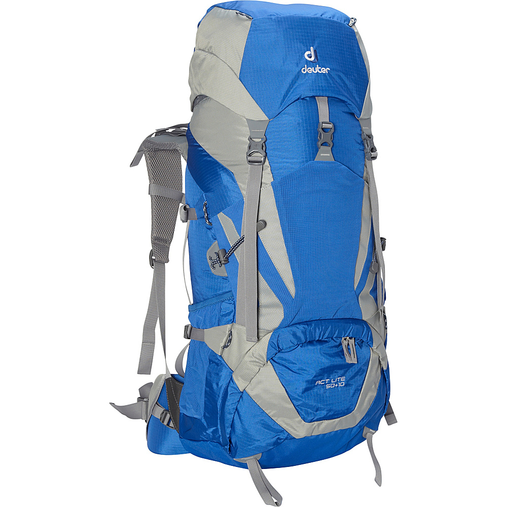 Deuter ACT Lite 50 10 Hiking Backpack ocean silver Deuter Day Hiking Backpacks