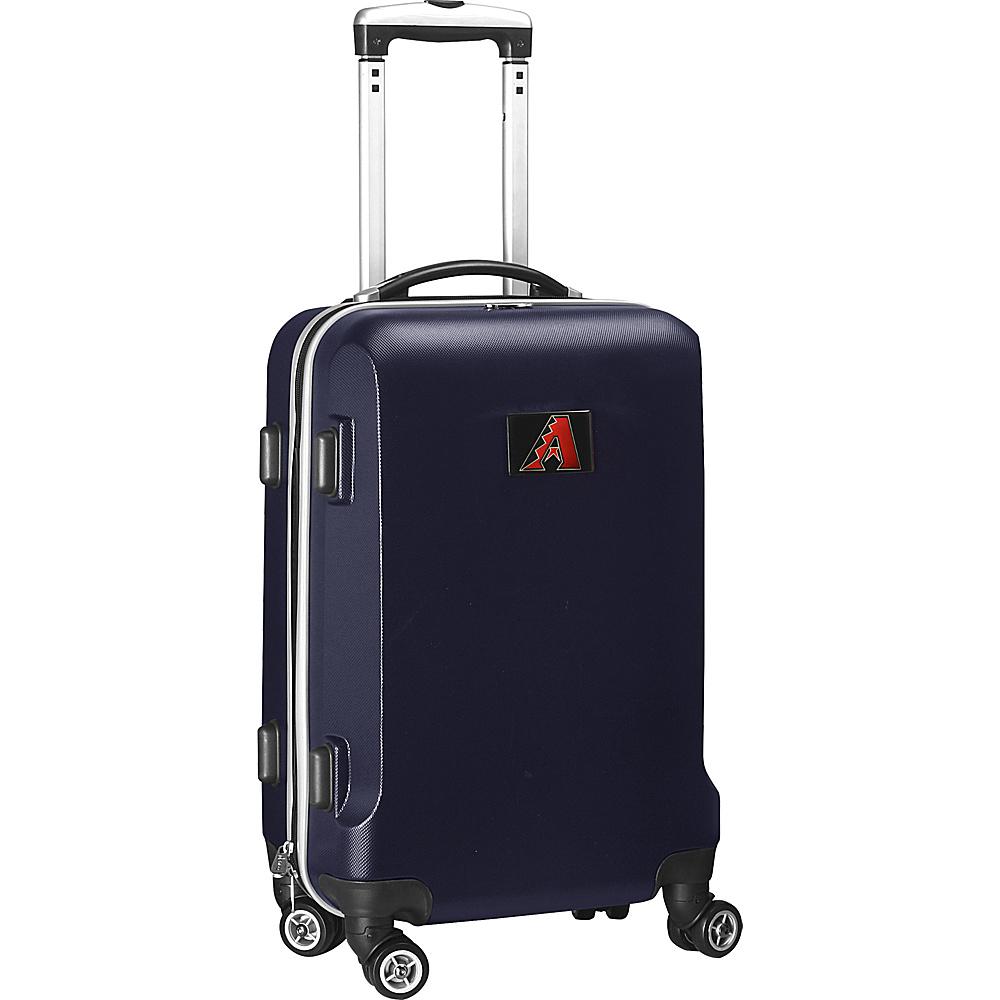 Denco Sports Luggage MLB 20 Domestic Carry-On Navy Arizona Diamondbacks - Denco Sports Luggage Hardside Carry-On - Luggage, Hardside Carry-On