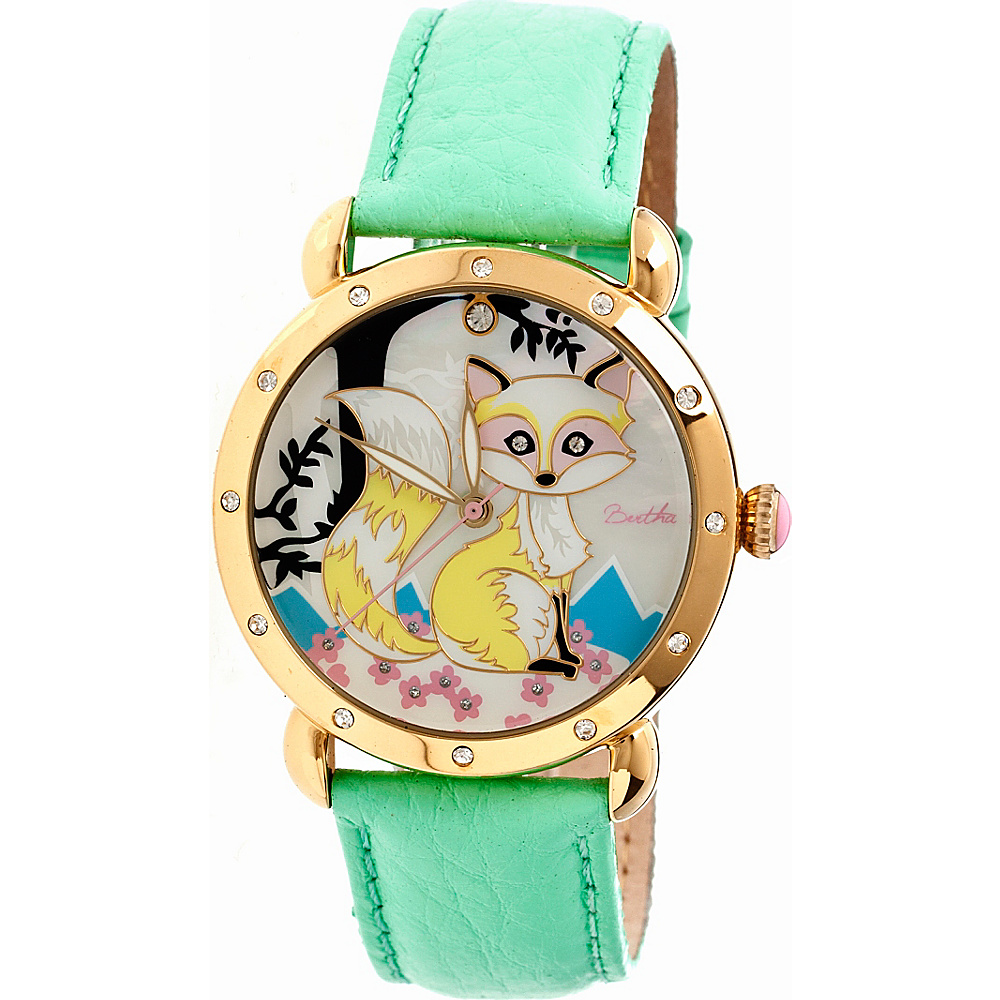 Bertha Watches Vivica Watch Mint Multicolor Bertha Watches Watches