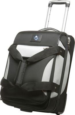 "Denco Sports Luggage MLB 22"""" Black Bottom Duffel Tampa Bay Rays - Denco Sports Luggage Small Rolling Luggage"" 10342385"