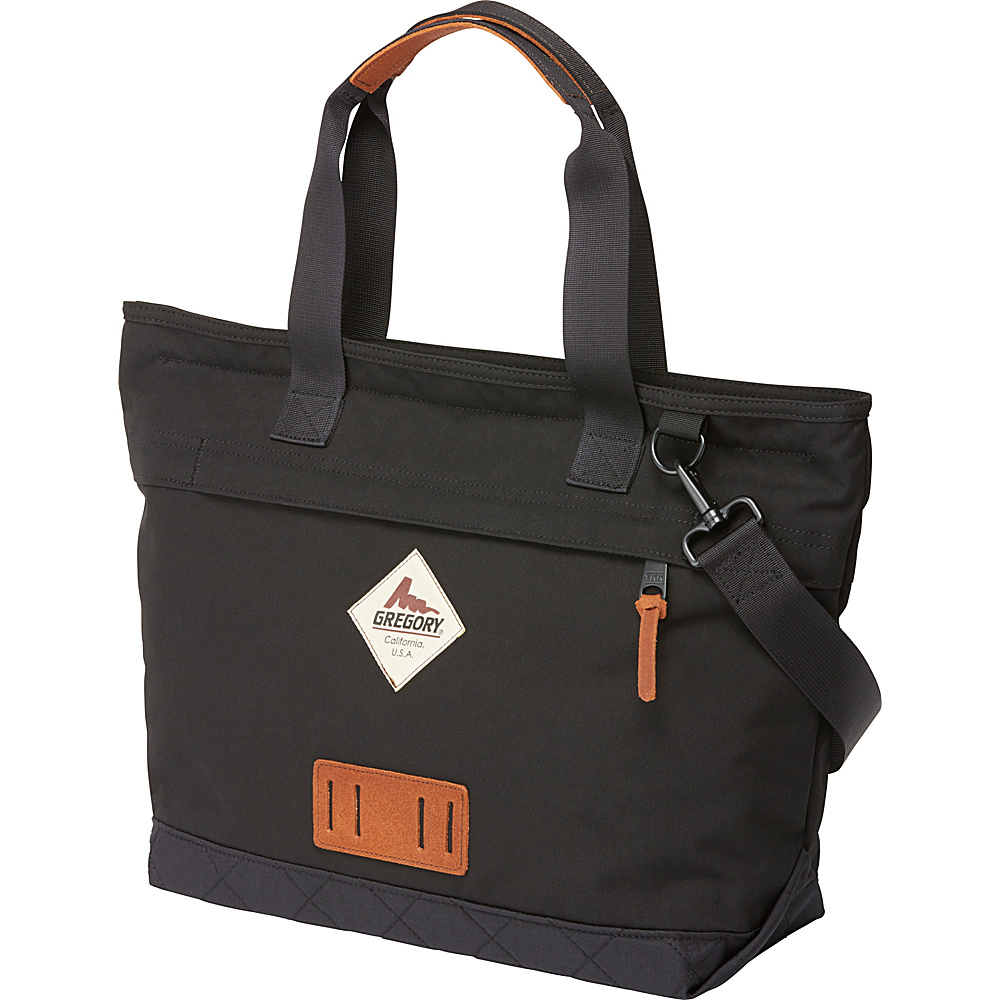 Gregory Sunrise Tote Trad Black Gregory All Purpose Totes
