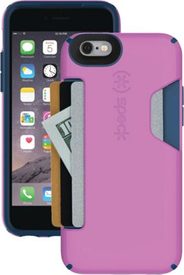 Speck iPhone 6 4.7 inch Candyshell Card Case Beaming Orchid Purple/Deep Sea Blue - Speck Electronic Cases