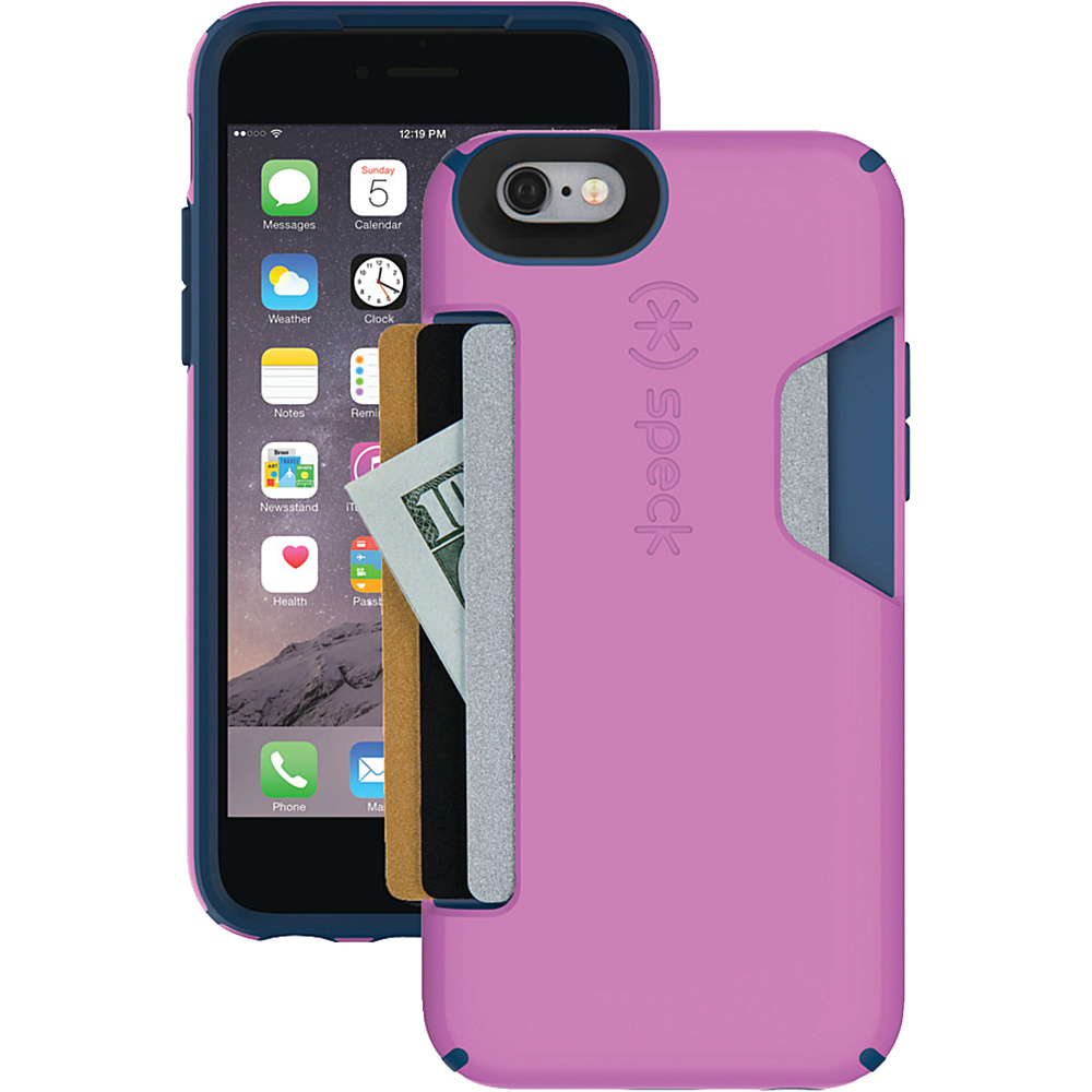 "Speck iPhone 6 4.7"" Candyshell Card Case Beaming Orchid Purple/Deep Sea Blue - Speck Electronic Cases"