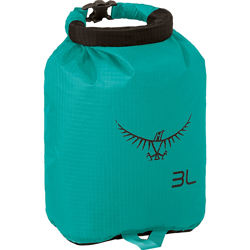 Osprey Ultralight Dry Sack Tropic Teal – 3L - Osprey Outdoor Accessories - Outdoor, Outdoor Accessories