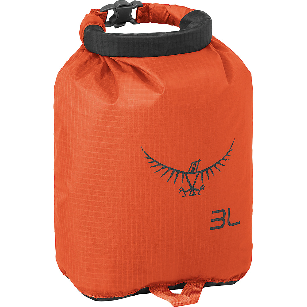 Osprey Ultralight Dry Sack Poppy Orange – 3L - Osprey Outdoor Accessories - Outdoor, Outdoor Accessories