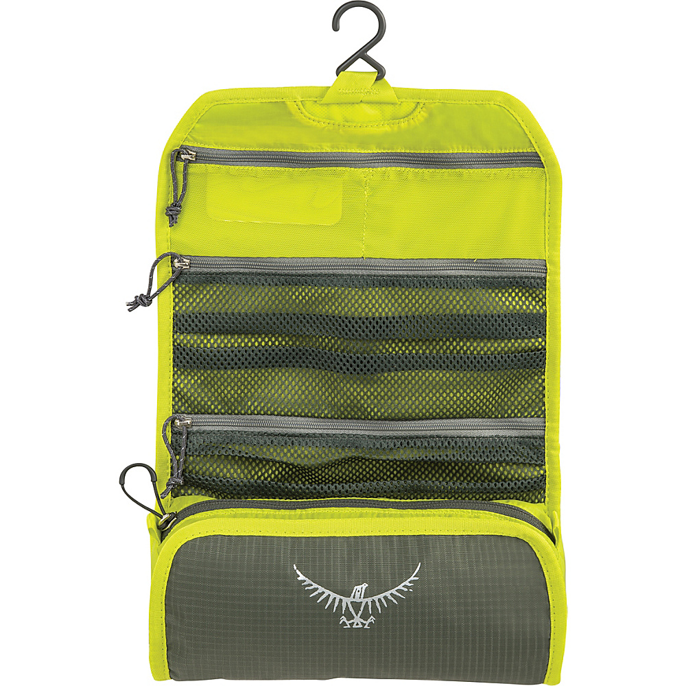 Osprey Ultralight Roll Organizer Electric Lime Osprey Toiletry Kits