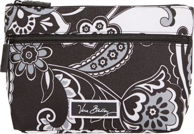 Vera Bradley Lighten Up Travel Cosmetic Midnight Paisley - Vera Bradley Ladies Cosmetic Bags