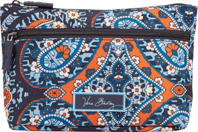 Vera Bradley Lighten Up Travel Cosmetic Marrakesh - Vera Bradley Ladies Cosmetic Bags