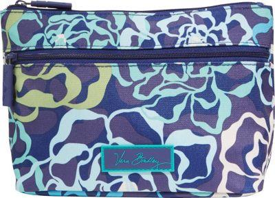 Vera Bradley Lighten Up Travel Cosmetic Katalina Blues - Vera Bradley Ladies Cosmetic Bags