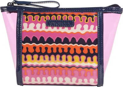 Vera Bradley Clearly Colorful Small Cosmetic Rio Squiggle - Vera Bradley Ladies Cosmetic Bags