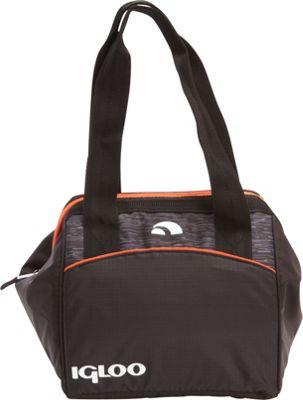 Igloo Leftover Insulated Tote 9 Stowe Black/Orange - Igloo Travel Coolers