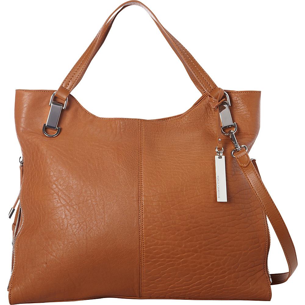 Vince Camuto Riley Tote Chestnut Brown Vince Camuto Designer Handbags