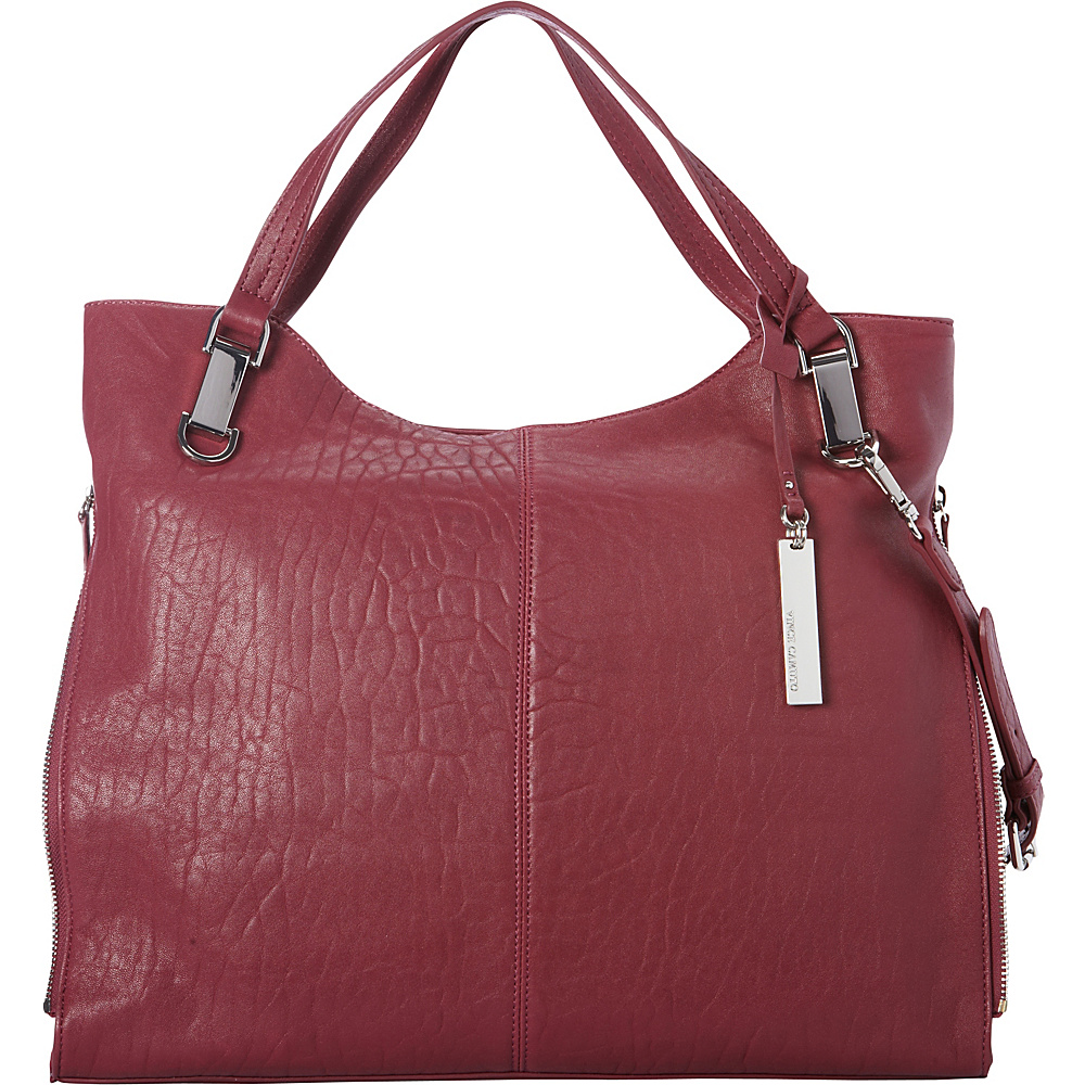 Vince Camuto Riley Tote Fig Jam Vince Camuto Designer Handbags