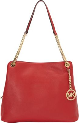 MICHAEL Michael Kors Jet Set Large Chain Shoulder Tote Chili - MICHAEL Michael Kors Designer Handbags