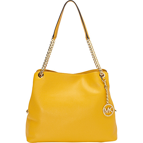 MICHAEL Michael Kors Jet Set Large Chain Shoulder Tote Sun - MICHAEL Michael Kors Designer Handbags