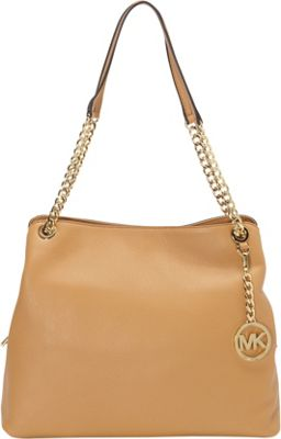 MICHAEL Michael Kors Jet Set Large Chain Shoulder Tote Peanut - MICHAEL Michael Kors Designer Handbags