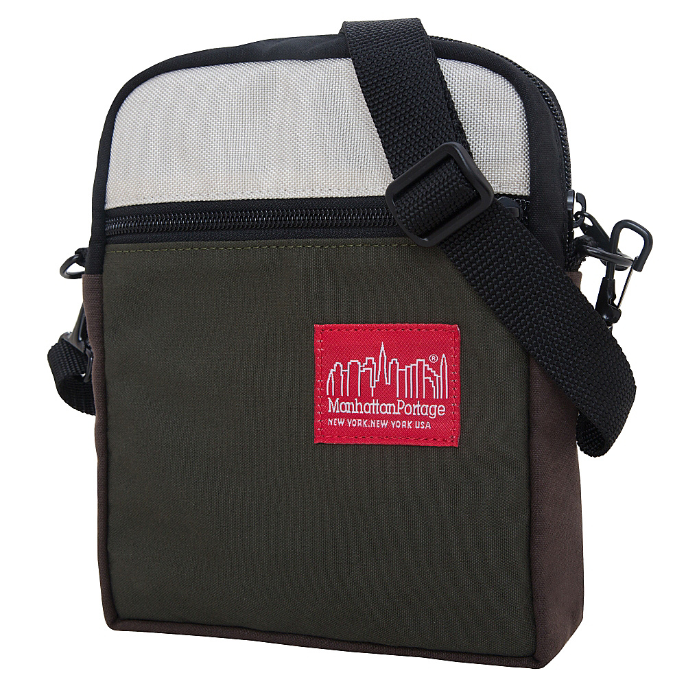 Manhattan Portage Army Duck City Lights Bqt/Mdn/Ivy - Manhattan Portage Other Mens Bags - Work Bags & Briefcases, Other Men's Bags