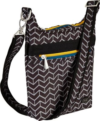 Lug Waddle Cross Body Pouch Midnight Penguin - Lug Fabric Handbags