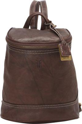 Frye Campus Small Backpack Walnut - Frye Designer Handbags