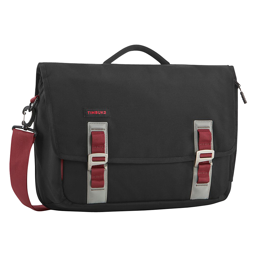 Timbuk2 Command TSA Friendly Laptop Messenger Medium Black Red Devil Timbuk2 Messenger Bags