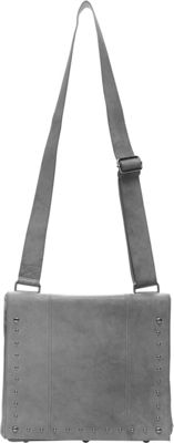 Ellington Handbags Sally Messenger Gray - Ellington Handbags Leather Handbags