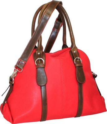 Punto Uno Dolly Dome Satchel Red - Punto Uno Gym Bags