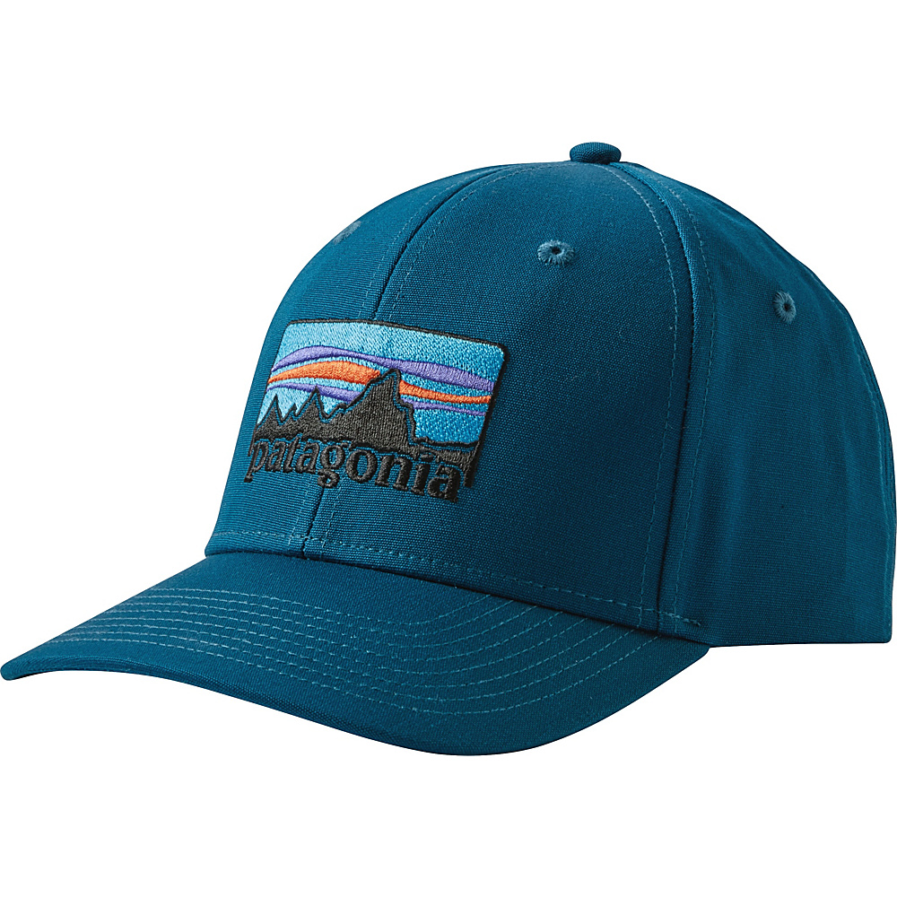 Patagonia 73 Logo Roger That Hat One Size - Big Sur Blue - Patagonia Hats/Gloves/Scarves - Fashion Accessories, Hats/Gloves/Scarves