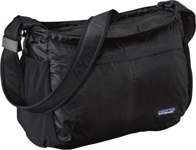Patagonia Lightweight Travel Courier Black - Patagonia Fabric Handbags