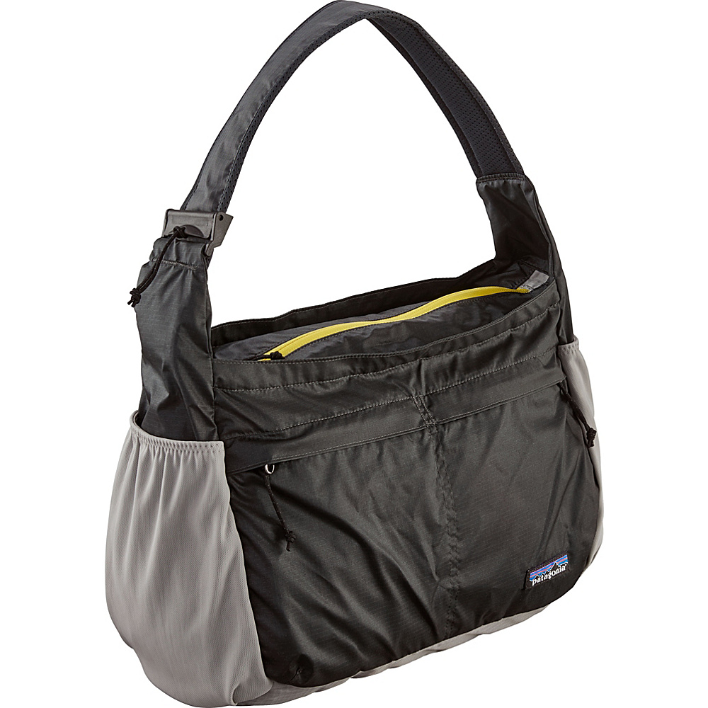 Patagonia Lightweight Travel Courier Forge Grey/Chromatic Yellow - Patagonia Fabric Handbags - Handbags, Fabric Handbags