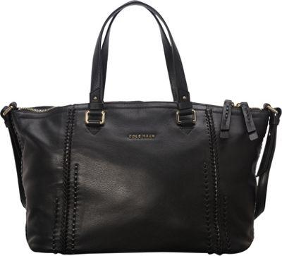 Cole Haan Nickson Satchel Black - Cole Haan Designer Handbags