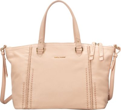 Cole Haan Nickson Satchel Canyon Rose - Cole Haan Designer Handbags