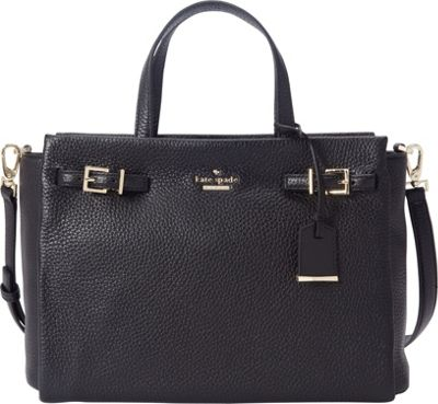 kate spade new york Holden Street Lanie Satchel Black - kate spade new york Designer Handbags
